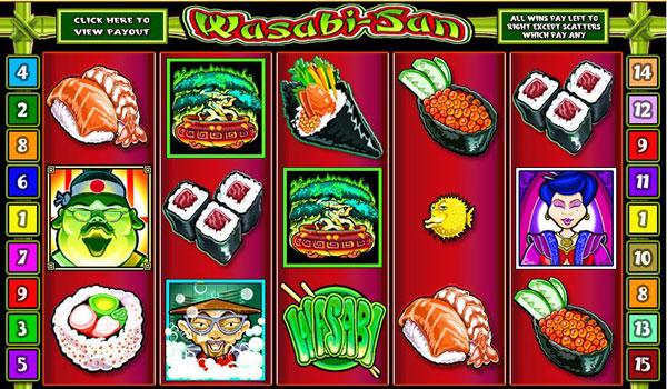 Игровой автомат Wasabi San