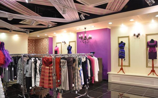 Магазин одежды «Глазурь»