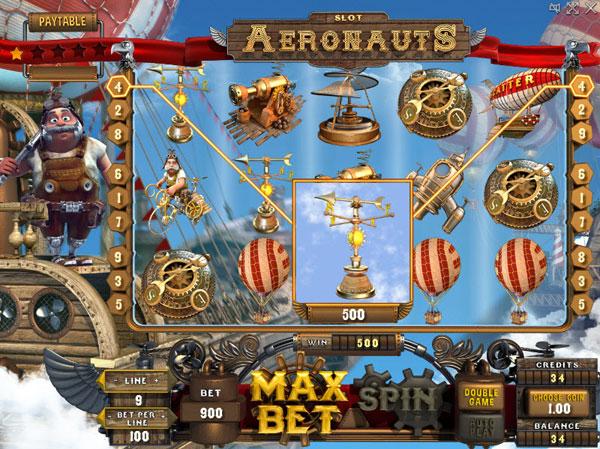Обзор игрового автомата - Aeronauts