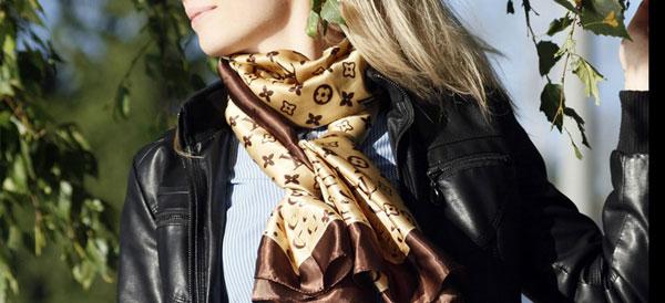 Как правильно выбрать женский шейный платок