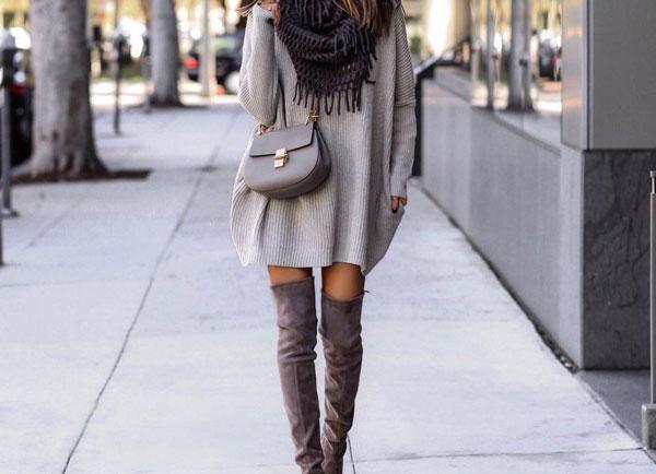 Модные вязаные платья и кардиганы ручной работы в современном гардеробе title=