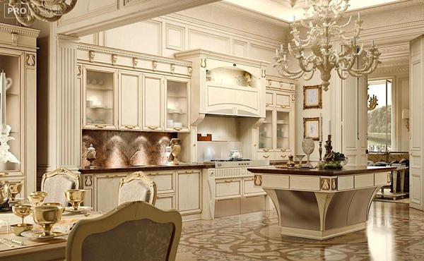 Кухни классика: особенности и преимущества мебели